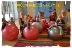 cvičení rodičů a dětí 1