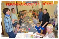 keramika rodičů a dětí