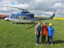 První letecká soutěž našich modelářů
