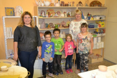 Keramika rodičů s dětmi