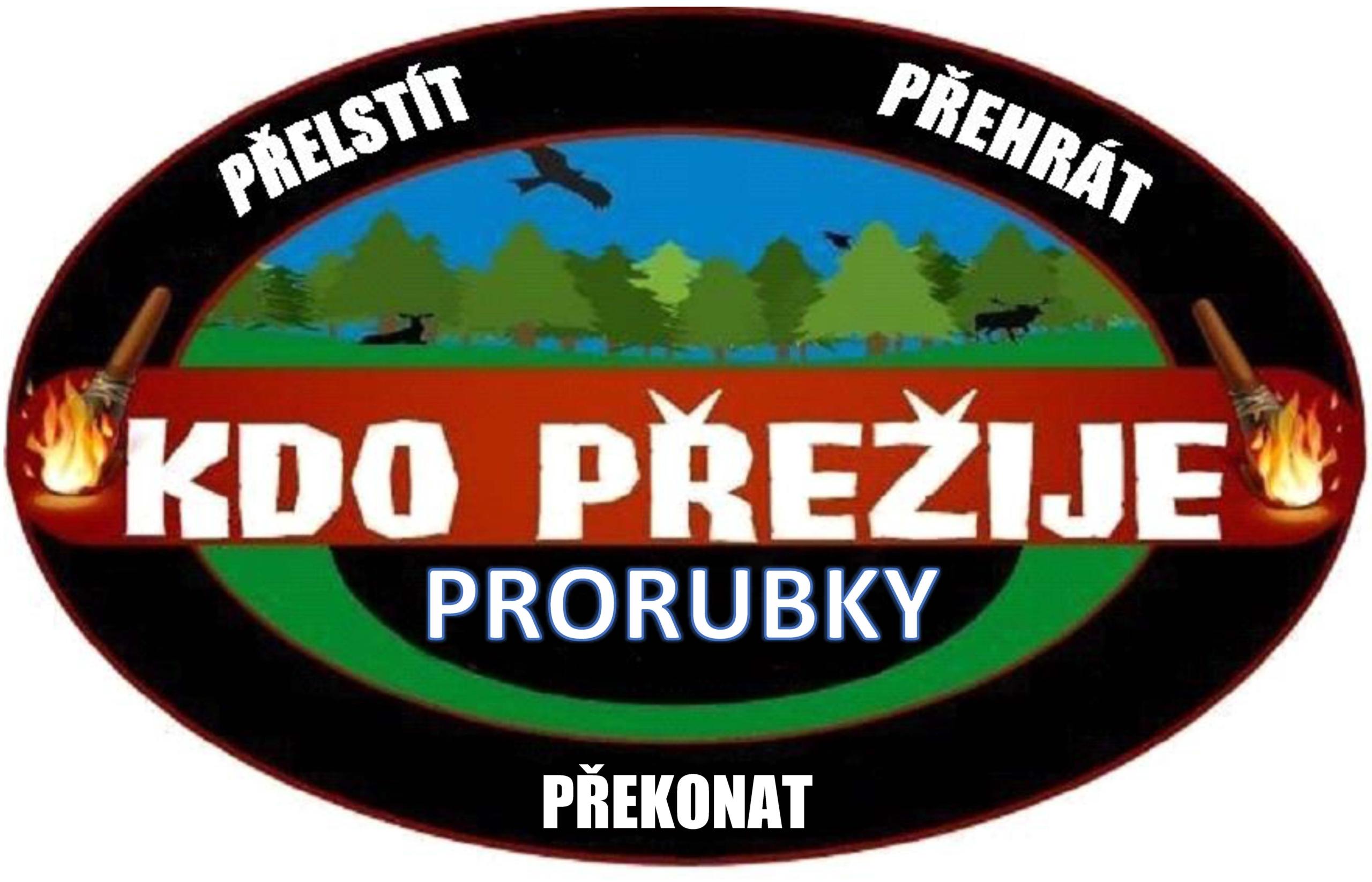 Logo Kdo přežije Prorubky